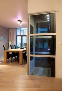 Qube-Glass-Home-lift-in-dining-room1