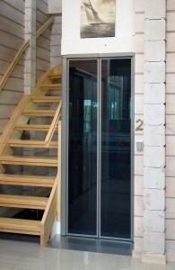 Qube-home-lift-glass-double-doors1