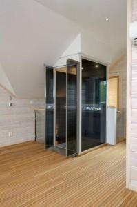Qube-home-lift-smoked-glass-Doors1